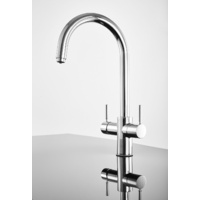 Insinkerator 3003JC Multitap 3n1 J-Shape Boiling Water Tap - Chrome
