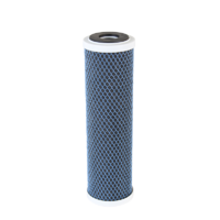 "Uniflow 10"" Fibredyne Silver Carbon Water Filter"