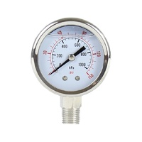 Uniflow 50mm Stainless Pressure Gauge 0-150 PSI