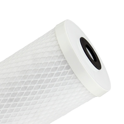 "Uniflow 10"" x 4.5"" Silver-Carbon Block Filter - 10 Micron"