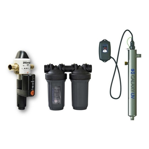 0.5 - 0.75 L/second Commercial Rainwater Treatment System 690kPa